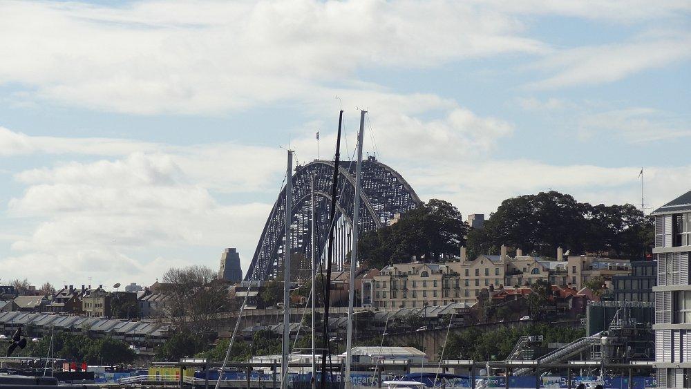 In ihrer ganzen Pracht : Die Harbour Bridge