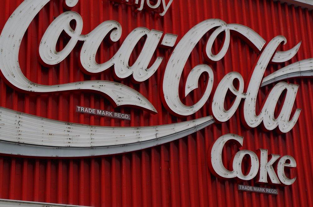 CocaCola Sign in KingsCross - Das Wahrzeichen des Stadtteils von Sidney