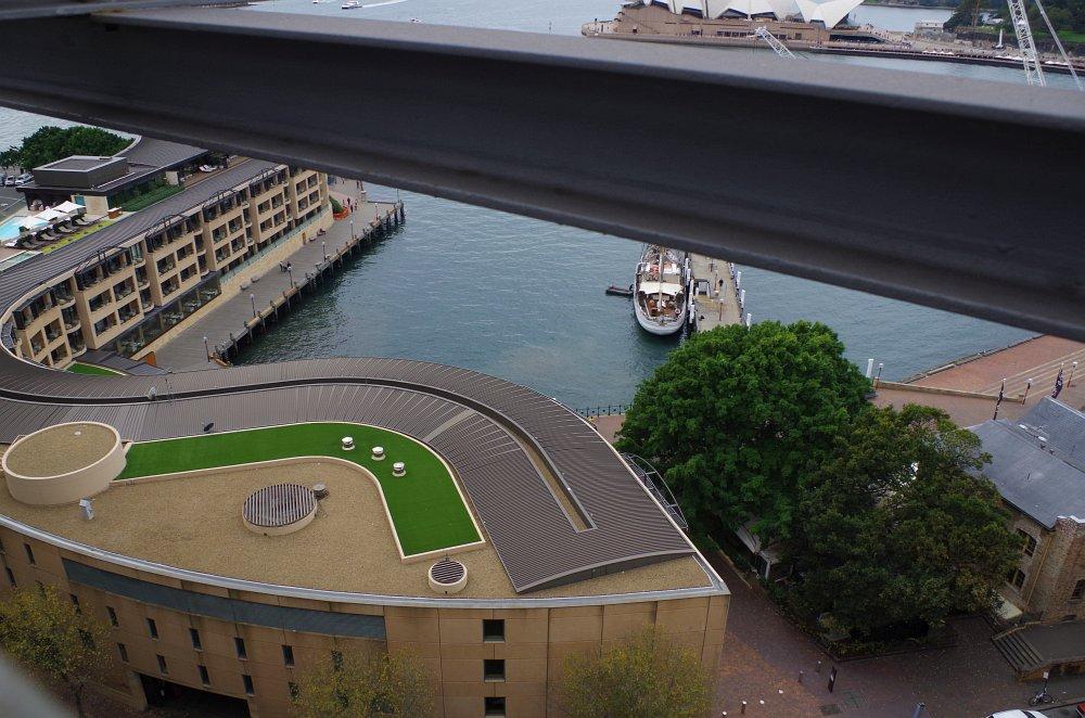 Nice Architecture Hotel - Von der Harbour Bridge aus