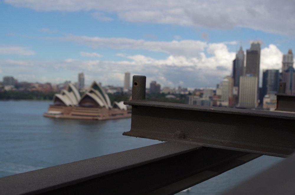 Foto Experiment II - auf der Harbour Bridge mit dem Opera House