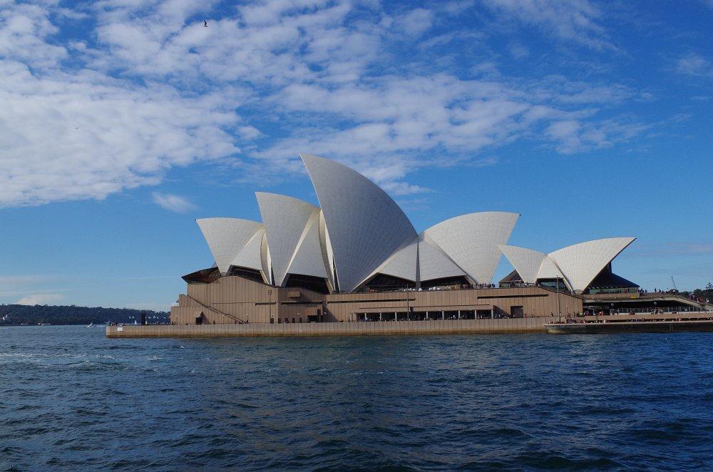 Opera House vom Circular Quay aus