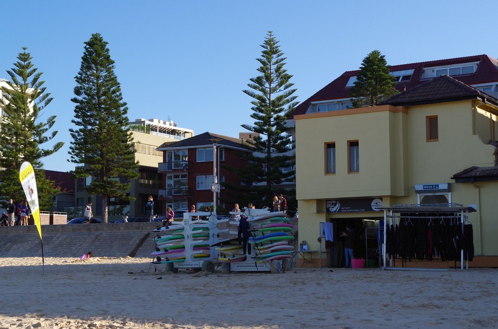 Surf Schule am Manley Beach