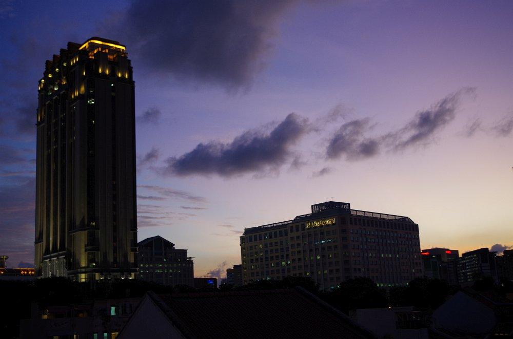 Ausblick aus dem The POD - Boutique Capsule Hotel