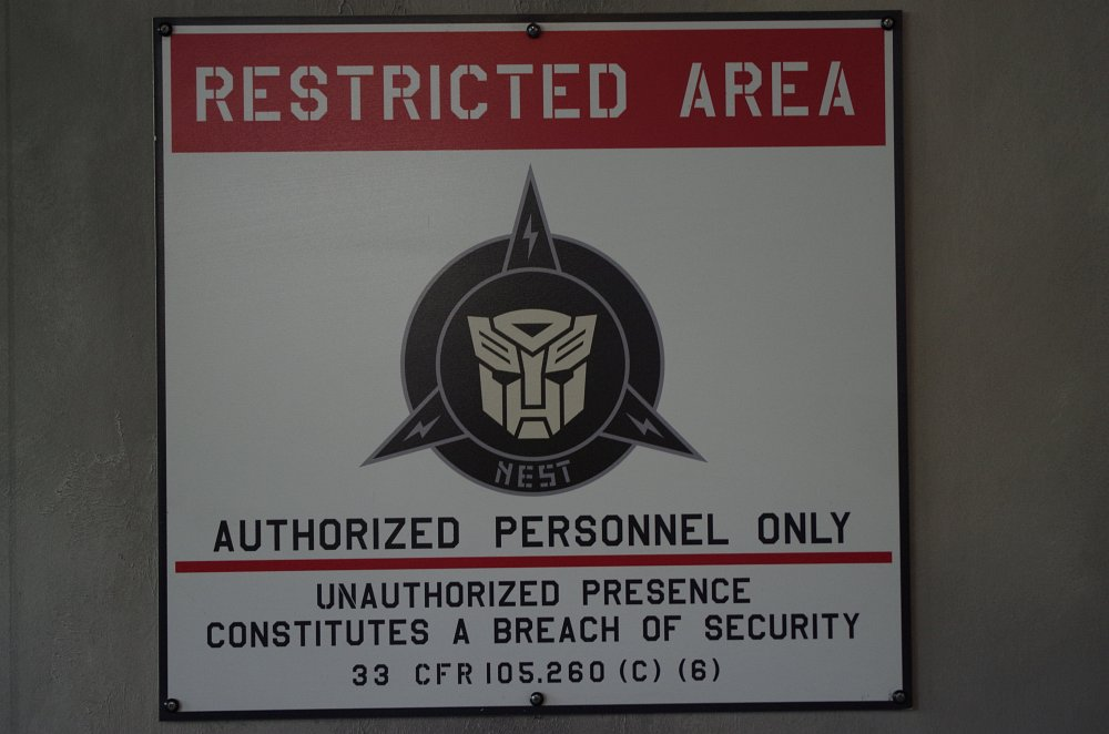Transformers Restricted Area