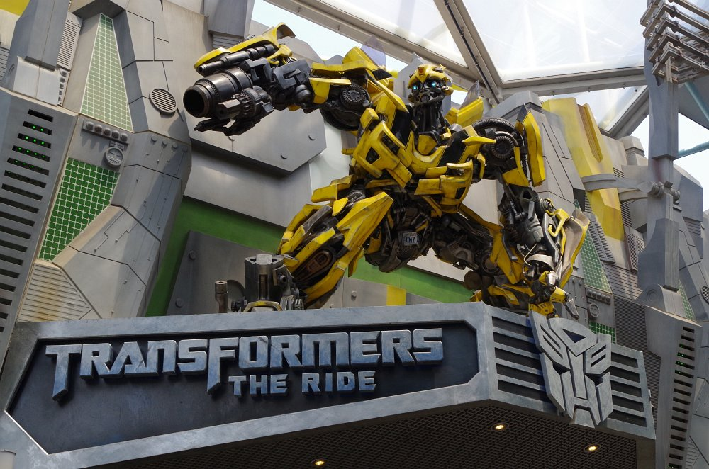 Transformers Bumblebee - Nachher