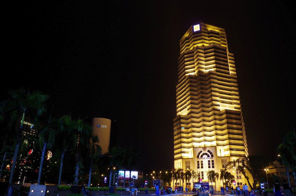 Vorplatz der Kuala Lumpur Petronas Twin Towers