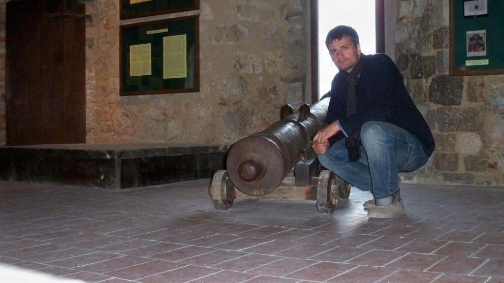 Kanone in der Burg Nehajgrad in Senj © weltvermessen.de