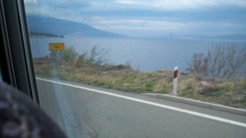 Ortseingangsschild von Senj in Kroatien © weltvermessen.de