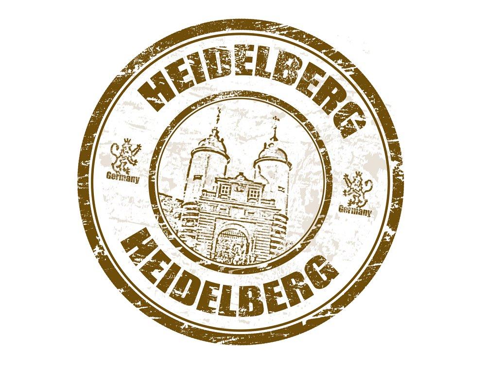 Heidelberg stamp