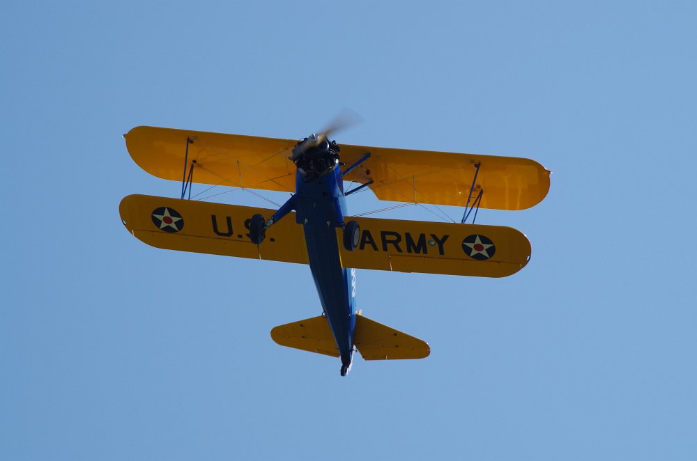 Stearman fly inn Bienenfarm 043