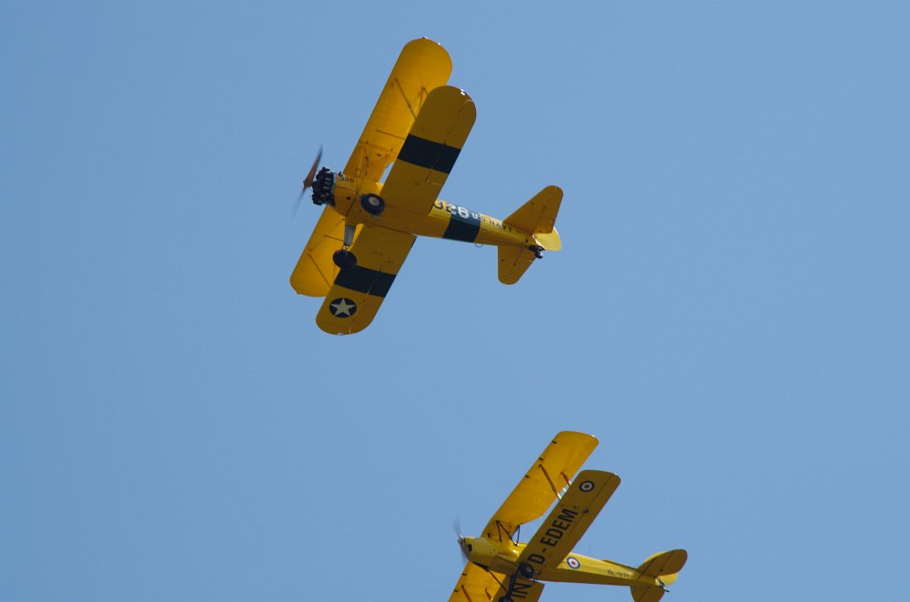 Stearman fly inn Bienenfarm 052