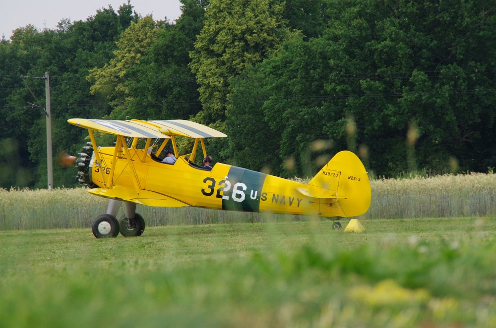 Stearman fly inn Bienenfarm 117