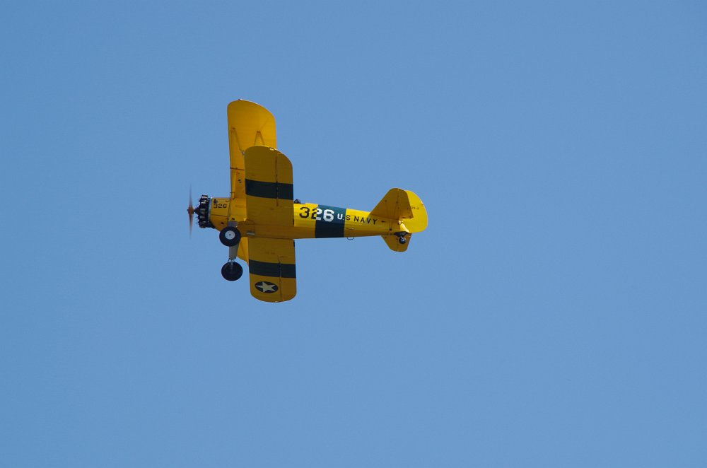 Stearman fly inn Bienenfarm 124