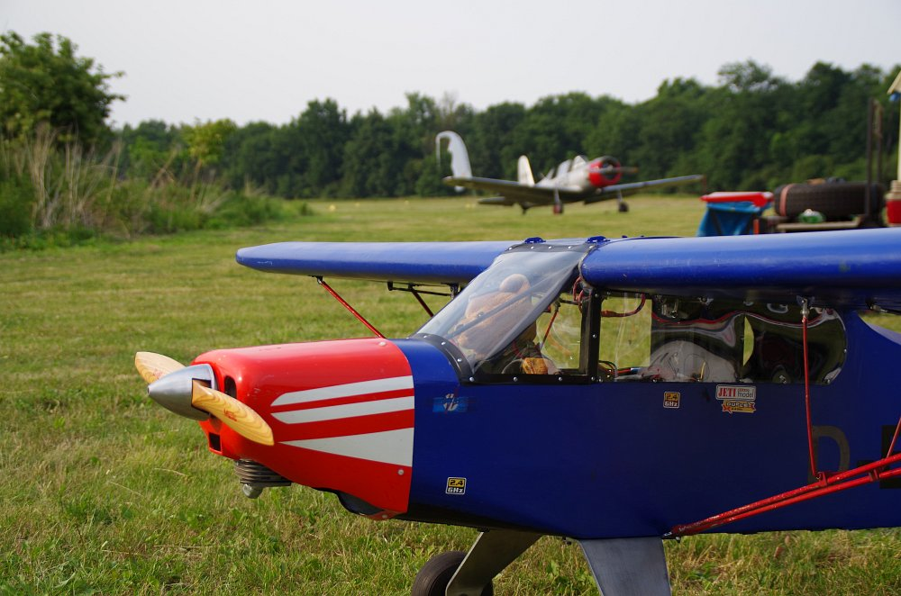 Stearman fly inn Bienenfarm 152