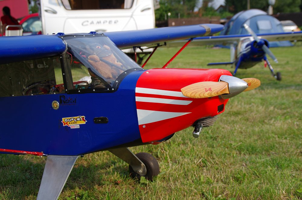 Stearman fly inn Bienenfarm 154