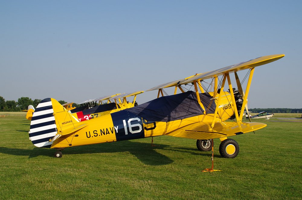 Stearman fly inn Bienenfarm 190