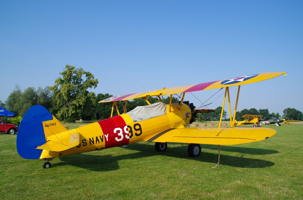Stearman fly inn Bienenfarm 202
