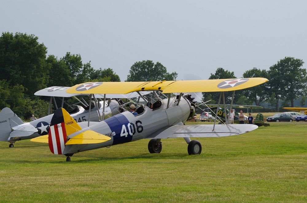 Stearman fly inn Bienenfarm 224