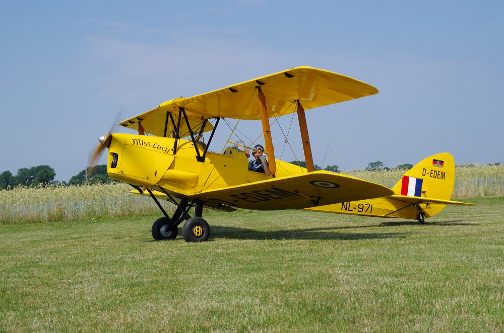 Stearman fly inn Bienenfarm 252