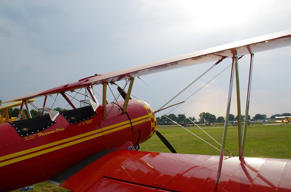 Stearman fly inn Bienenfarm 300