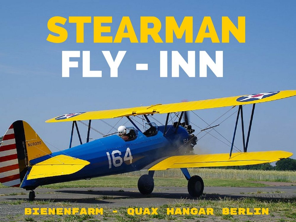 stearman fly inn bienenfarm